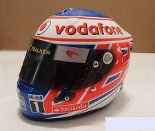 Ultima OFFERTA!!! Jenson Button, CASCO 2011 1/2 SCALA 2011 NUOVO CON SCATOLA Minichamps