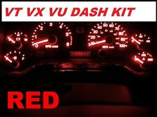 VT VX VU RED LED Dash Light KIT Commodore Berlina Calais SS WH