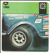1978 Edito-Service Auto Rally Tires Card