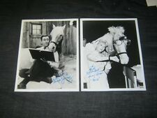"Authentic CONNIE HINES ALLAN YOUNG ""MISTER ED"" Signed in Person - My Collection"