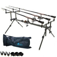 Carp Fishing Rod Pod 3 pair of rod holders Stand Fishing Tackle