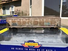 Athearn Genesis Trinity 5161 cu ft Covered Hopper, KCS/FILX weathered