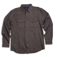 MATIX Easy Street Flannel Shirt (L) Black