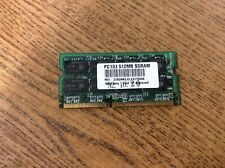 512MB Sodimm SD Non-ECC PC133 133 133MHz 133 MHz SDRam 512 512M Ram Memory