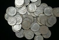 1960-1963 ROOSEVELT SILVER DIMES - Roll of 50 -  FREE SHIPPING!   M-1755