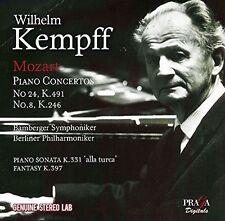 Mozart / Wilhelm Kem - Mozart: Piano Concertos Nos.8 And 24 [New CD]