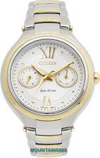 CITIZEN EcoDrive Watch,SapphireGlass,180DPowerReserve,WR50,D/Day,Lady,FD4004-50A