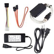 Converter Adapter Cable USB 2 to SATA S-ATA IDE 2.5 3.5 HDD Hard Drive Transfer