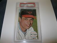 1964 Topps Giant # 5 Milt Pappas  NM 7 PSA Certified Encapsulated