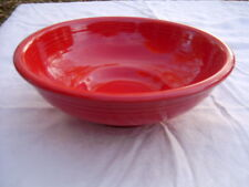 FIESTA NEW SCARLET red  DISPLAY SERVING PEDESTAL BOWL Fiestaware