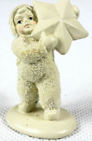 Dept 56 Snowbabies  I Found The Biggest Star Of All Miniature Pewter 76690