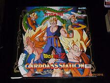 DRAGON BALL Z GT DBZ CARDDASS STATION SYSTEM FILE CARTE CARD BINDER CLASSEUR #01