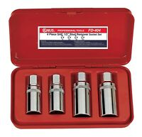 Genius Tools 4PC 1/2 Dr. SAE Stud Remover Socket Set - FD-404