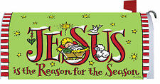Jesus Season - Mailbox Makeover - Vinyl Cover with Magnetic Strips Mm2566