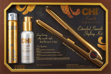 "CHI PRO 1"" Ceramic Flat Iron in Keratin Gold with Free Gifts - Ionic Tourmaline"