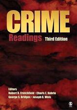 Crime : Readings (2007, Paperback)