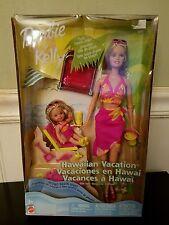Barbie And Kelly  Doll Hawaiian Vacation Gift Set 2003