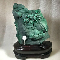 2170g  Natural crystal ore collection beautiful malachite stone specimen