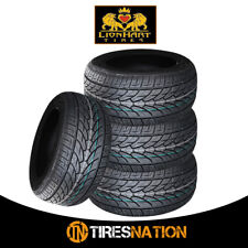(4) New Lionhart LH-TEN 255/55R18 109W XL All Season High Performance Tires