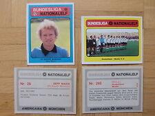 Americana images 640er Série Championnat – nationalelf 1 choisir une image de tous les