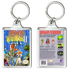 DRAGON WARRIOR 2 NINTENDO NES KEYRING LLAVERO