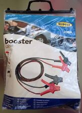 Ring Automotive Car Battery Booster Cables Jump Start Leads 200A NEW!