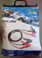 Ring Automotive Batería De Coche cables de refuerzo Buen Inicio Lidera 200A! nuevo!