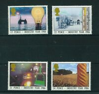 GB QE II 1986 industry Year full set of stamps. Mint. Sg 1308-1311