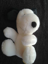 """PEANUTS - VINTAGE SNOOPY 6"""" PLUSH SOFT TOY - DETERMINED PRODUCTIONS - VG COND"""