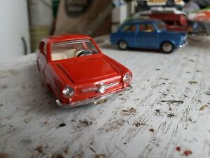 Politoys m fiat 850 coupe  n.517 scala 1:43 made in italy