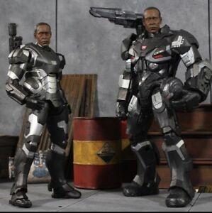 "Custom Head Only  1/12 Don Cheadle War Machine/Iron Man Sculpt for 6""for SHF/ML"