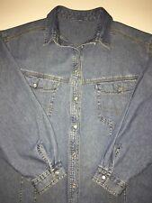 Damen Jeansjacke von ULLA POPKEN Gr.50-52 Jacke für Frühling-Sommer lang Neuw.