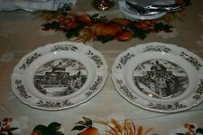 Mary Baker Eddy Wedgewood Christian Science Historical Plates Set of Eight (8)
