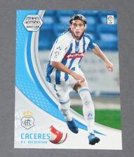 CACERES URUGUAY RC RECREATIVO ESPAGNE PANINI CARD MGK FOOTBALL LIGA 2007-2008