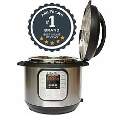 Instant Pot DUO60 7-in-1 Multi-Use Programmable Pressure Cooker Slow Cooker 6...