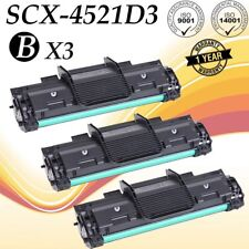 3 PK SCX-4521D3 Black Toner Cartridge for Samsung SCX-4521F SCX-4321 SCX-4521FR