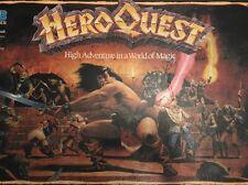 MB Hero Quest haute Aventure dans le monde de magie jeu de plateau (100% Complet)