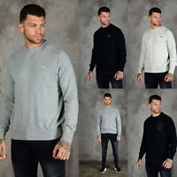 883 POLICE Mens Designer Crew Neck Pullover Knitted Jumper Sweater Knitwear Knit