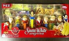 PEZ - Disney Snow White and the Seven Dwarfs - Box Collector's Set of 8  w/book