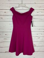 Lulus Women's Size S Small Purple Fuchsia Cute Summer Fall Party Dress NEW TAGS