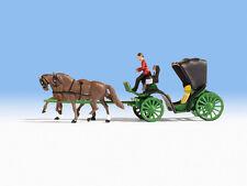 de caballos Hackney Cabina VICTORIA - OO/HO FIGURAS - Noch 16708