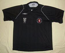 KENT County FA / 2009 - UMBRO - MENS football REFEREE Jersey / Shirt. Size: XXL