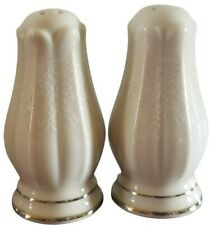 Noritake White Silver Floral Porcelain Salt And Pepper Shakers Philippines
