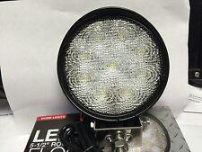 "1492114 LED FLOOD LAMP, 5.50"" 9 CLEAR LED's, CLEAR LENS, 12-24 volt, 1,500 Lumen"