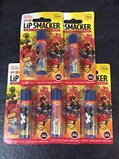 5x Disney Mickey Minnie Lip Smacker Sunscreen Lip Balm Ice Tropical Punch SPF 20