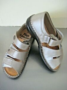 FINN COMFORT Germany Adjustable Leather Sandals. Size 34 D Rrp. $340