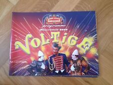 programme circo zirkus cirque d'Hiver Bouglione VOLTIGE 2003