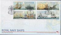 2019 - Royal Navy Ships FDC - ,Greenwich,London (Compass) Pmk - Post Free