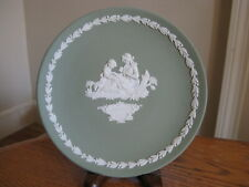 """Wedgwood Jasperware Sage Green Mother's Day 6 1/2"""" Collector Plate 1972"""