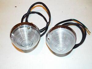 55-56-57 Chevrolet Truck Parking Turn Light Lamp Lens Housing Assemblies, wiring